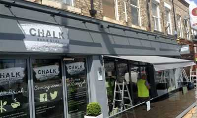 Image of Commercial Awning &#8211;<br/> Chalk Bar &amp; Grill
