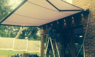 Image of Commercial Awning &#8211; <br/>Northop Hall